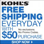 Kohls MVC Free Shipping Code No Minimum